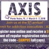 Recovery Campus VIP Registration Rate to AXIS