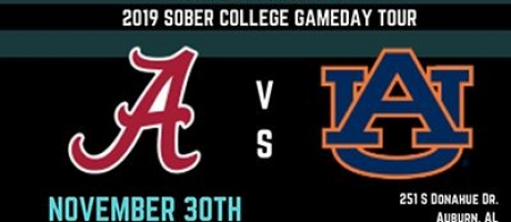 Sober AF Entertainment 2019 Sober College GameDay Tour