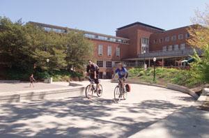 UO campus stock images