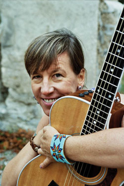 "Kathy Moser (kathymoser.com) is a musician and songwriter in recovery. She also hosts a weekly  podcast, ""Wings Over Water: Creativity in Recovery,"" on City of Angels Recovery Radio (COARadio.com), where you can hear live interviews from the festival."