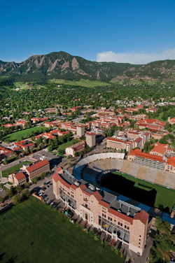 University of Colorado campus aerial2