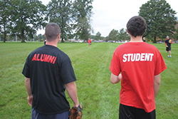 Rutgers student - alumni softball