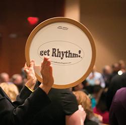 Get Rhythm on drum