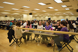 TCNJ brainiacs go team to team for late night trivia. Pride and prizes are on the line.